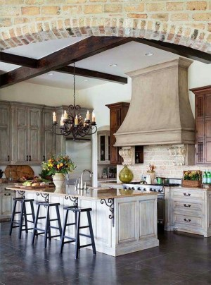 Flawless French Country Style Kitchen Decor Ideas38