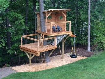 Incredible Backyard Playground Kids Design Ideas19