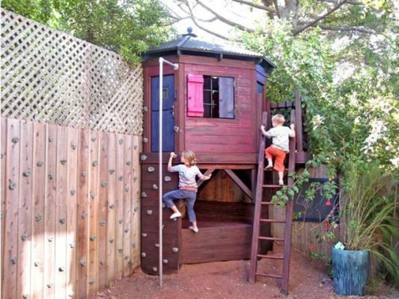Incredible Backyard Playground Kids Design Ideas27