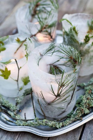 Inexpensive Diy Outdoor Winter Table Decoration Ideas42