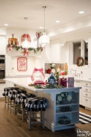 Lovely Christmas Kitchen Decorating Ideas13