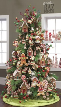 Unique Christmas Tree Decorating Ideas03