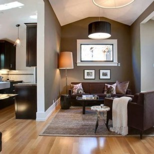 Unordinary Living Room Designs Ideas With Combinations Of Brown Color04