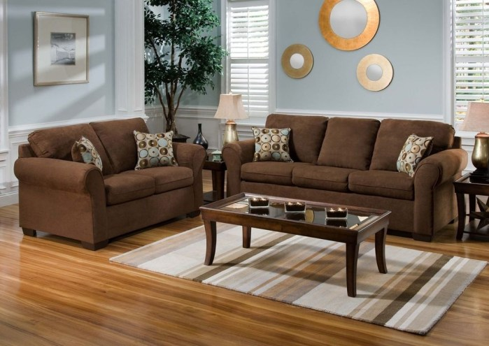 Unordinary Living Room Designs Ideas With Combinations Of Brown Color07