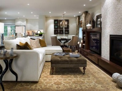 Unordinary Living Room Designs Ideas With Combinations Of Brown Color34