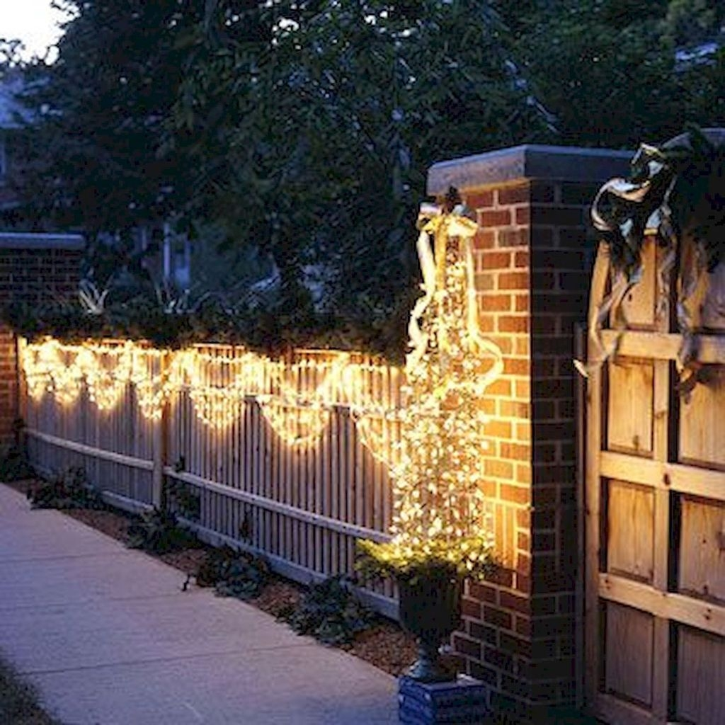 Vintage Outdoor Winter Lights Decoration Ideas08