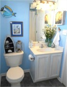 Affordable Beach Bathroom Design Ideas18