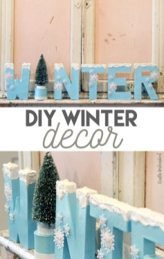 Amazing Diy Winter Home Decoration Ideas17