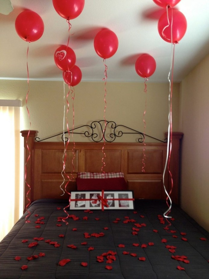 Cozy Bedroom Decorating Ideas For Valentines Day40