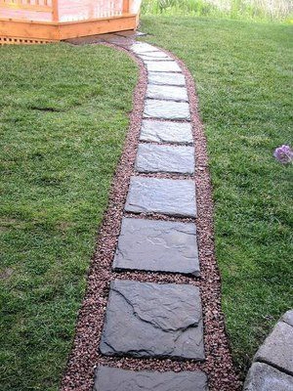 Inspiring Stepping Stone Pathway Decor Ideas For Your Garden11