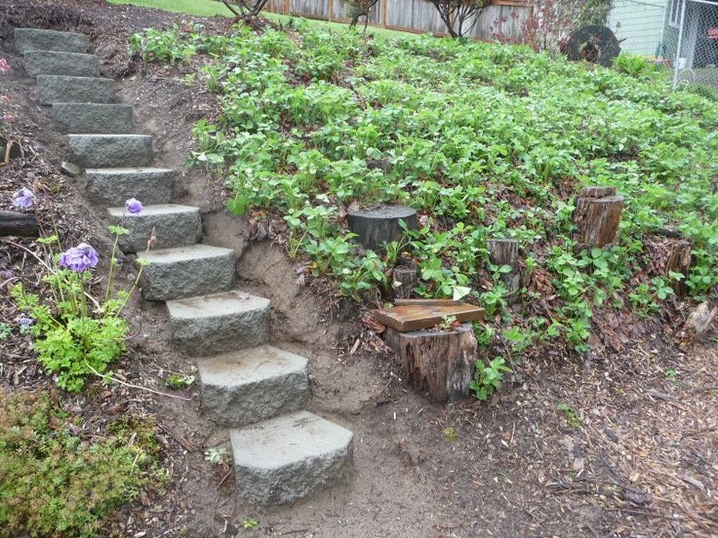 Inspiring Stepping Stone Pathway Decor Ideas For Your Garden21