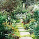 Inspiring Stepping Stone Pathway Decor Ideas For Your Garden35