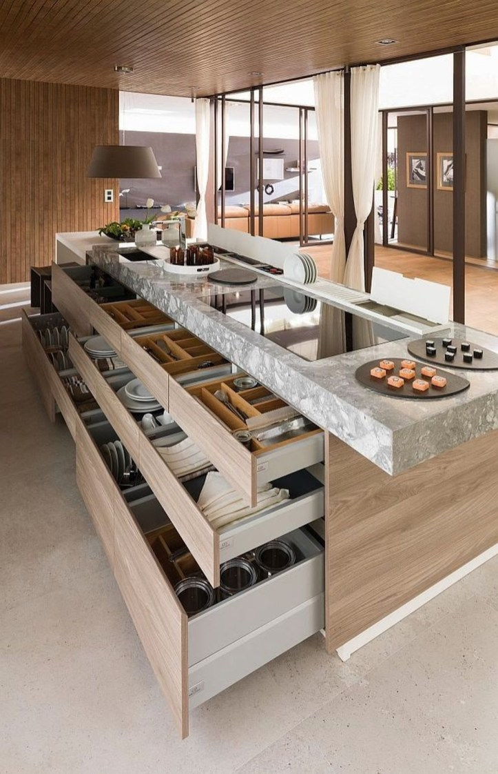 Modern Kitchen Island Design Ideas39