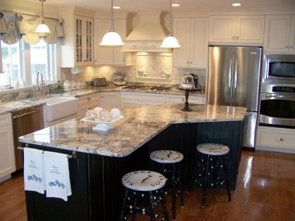 Modern Kitchen Island Design Ideas43