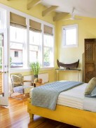 Perfect Yellow Bedroom Decoration And Design Ideas03