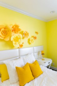 Perfect Yellow Bedroom Decoration And Design Ideas05