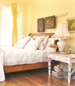 Perfect Yellow Bedroom Decoration And Design Ideas07