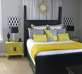 Perfect Yellow Bedroom Decoration And Design Ideas30