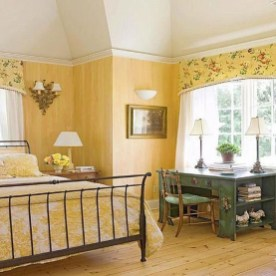 Perfect Yellow Bedroom Decoration And Design Ideas32
