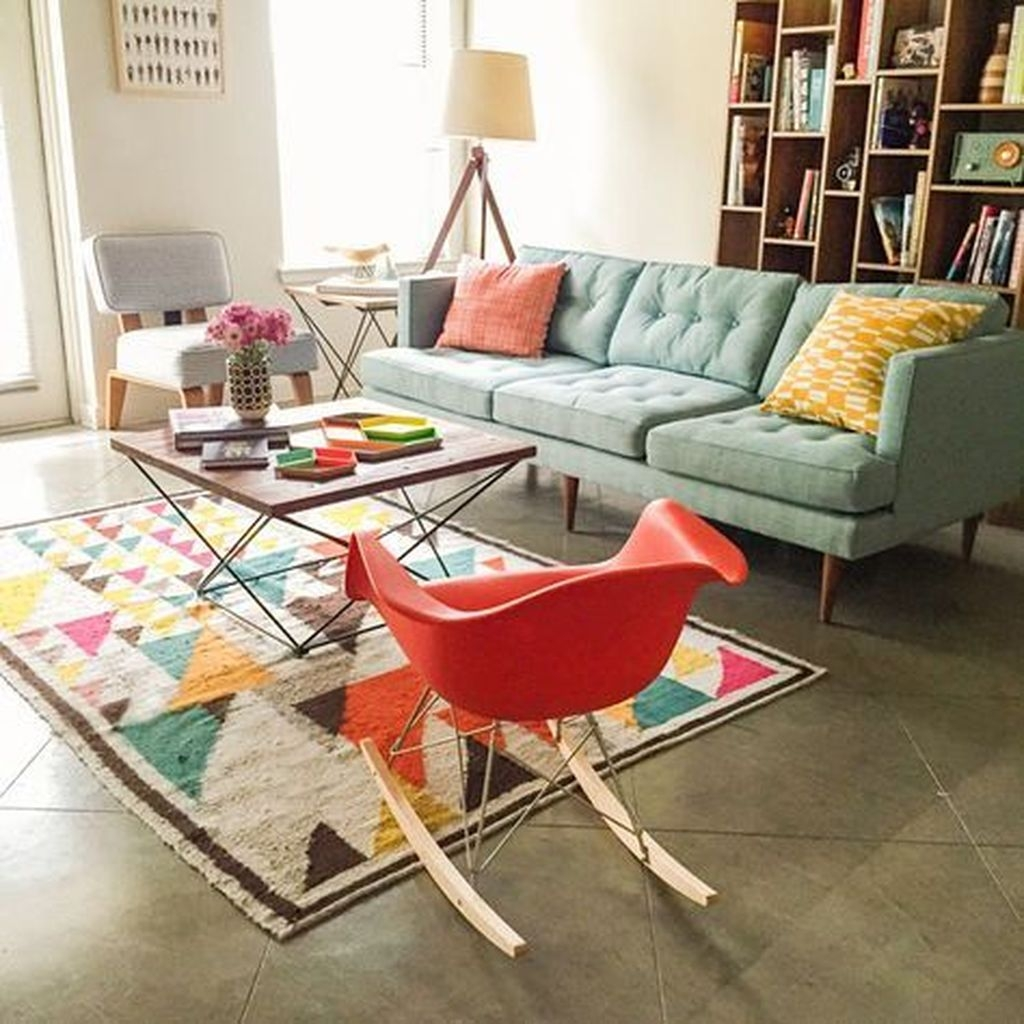 Relaxing Mid Century Modern Living Room Decor Ideas07