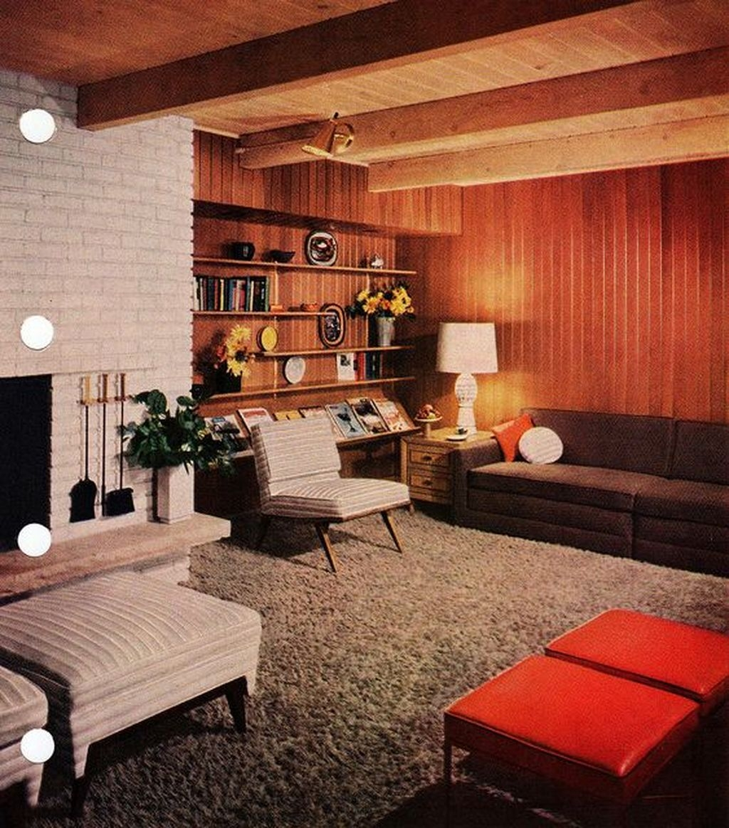 Relaxing Mid Century Modern Living Room Decor Ideas27