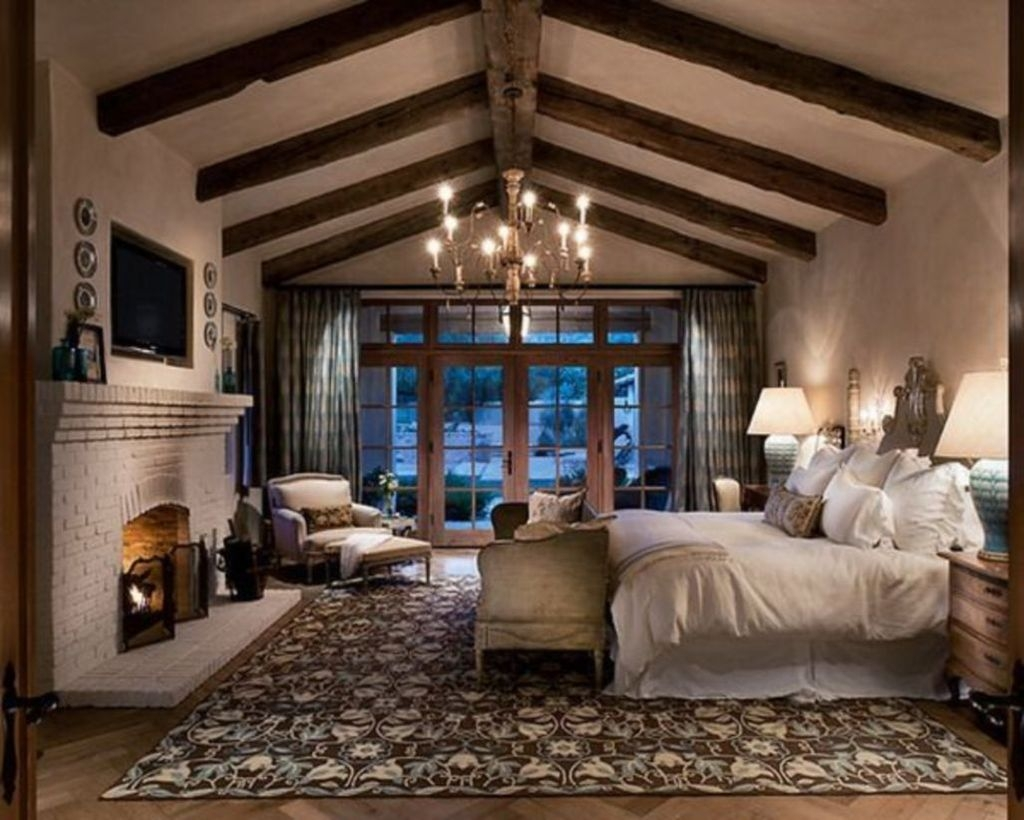 9 Rustic Romantic Master Bedroom Design Ideas  TRENDEDECOR