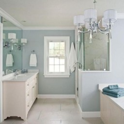 Stunning Coastal Style Bathroom Designs Ideas41