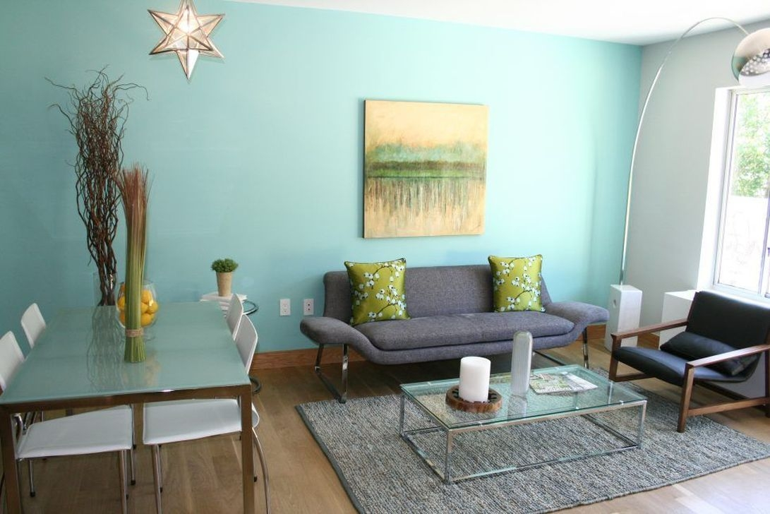 Wonderful Blue Studio Apartment Decor Ideas On A Budget29