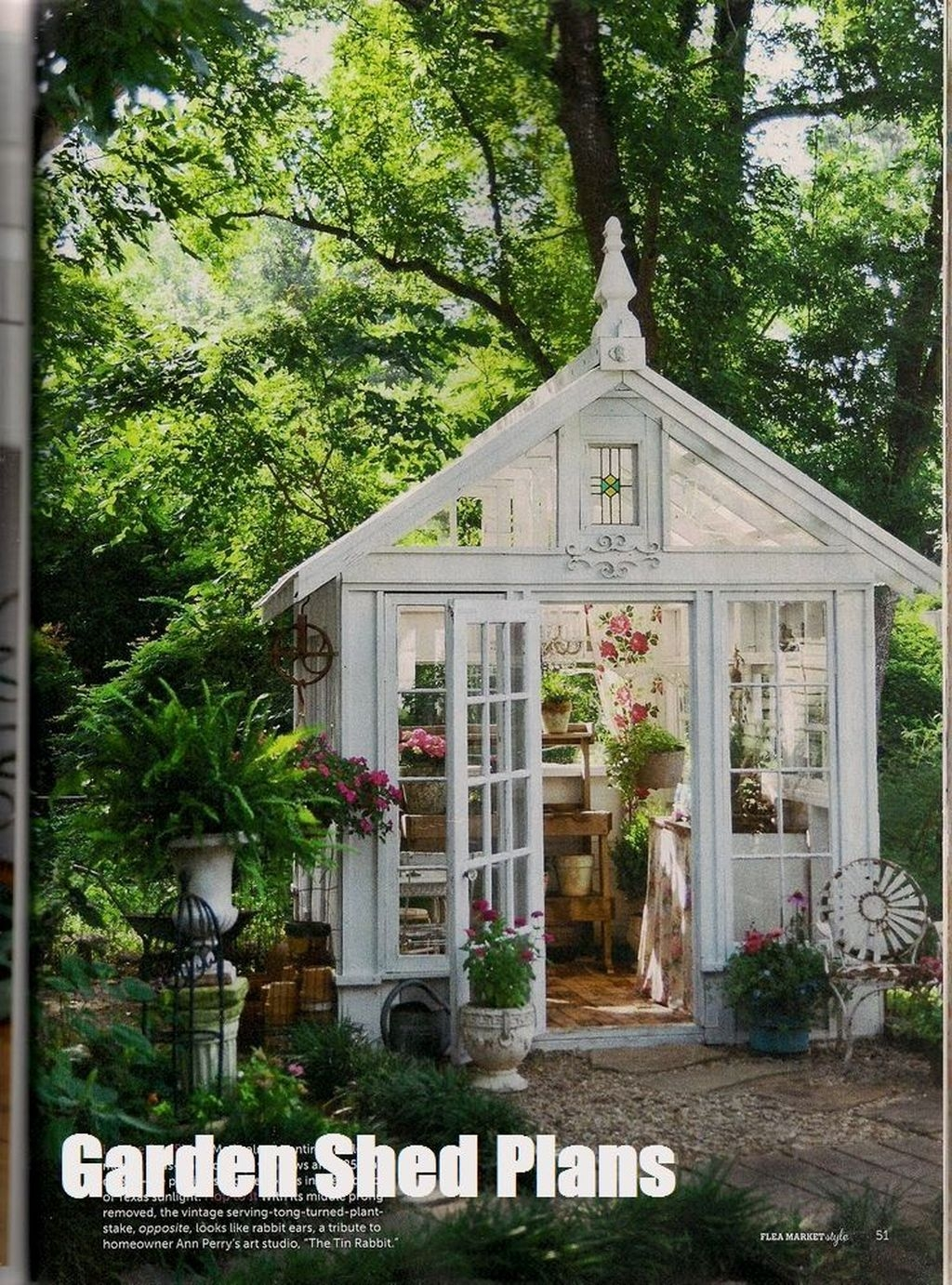 Awesome Shed Garden Plants Ideas28