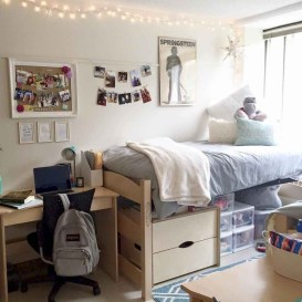 Brilliant Dorm Room Organization Ideas On A Budget24