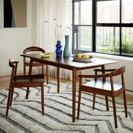 Cool Mid Century Dining Room Table Ideas02