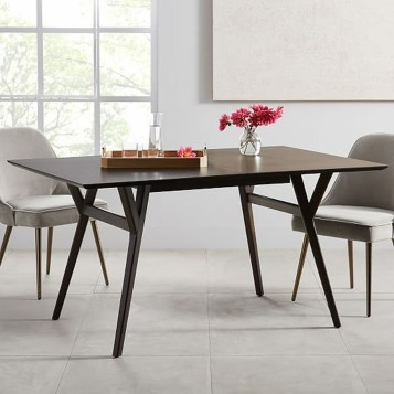 Cool Mid Century Dining Room Table Ideas07