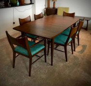 Cool Mid Century Dining Room Table Ideas15