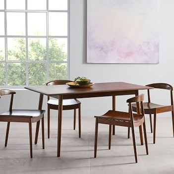 Cool Mid Century Dining Room Table Ideas28
