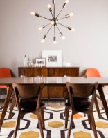 Cool Mid Century Dining Room Table Ideas43