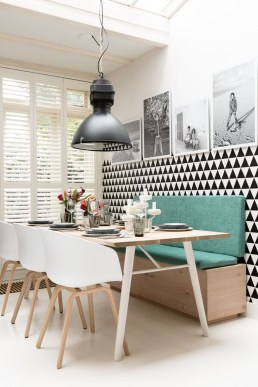 Creative Banquette Seating Ideas For Kitchen20