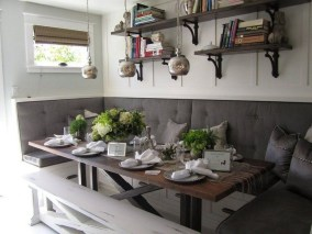 Creative Banquette Seating Ideas For Kitchen25