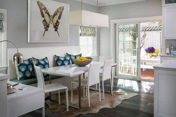 Creative Banquette Seating Ideas For Kitchen31