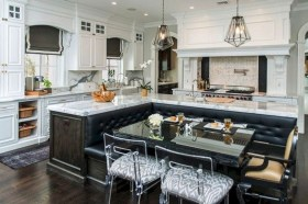 Creative Banquette Seating Ideas For Kitchen34