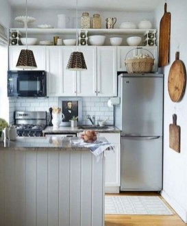 Creative Small Kitchen Remodel Ideas34