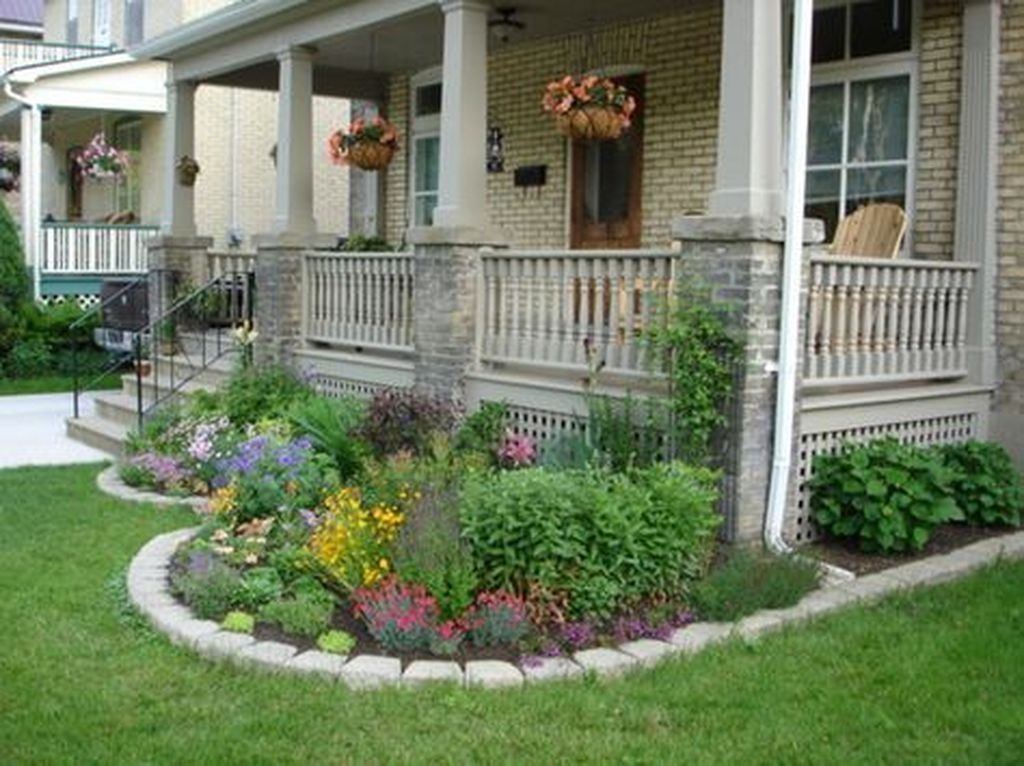 20+ Inexpensive Front Yard Landscaping Ideas - TRENDEDECOR on Inexpensive Backyard Landscaping id=15571