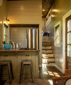 Lovely Tiny House Kitchen Storage Ideas19