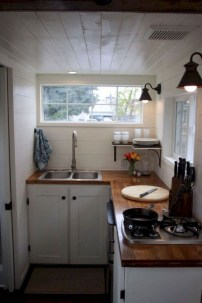 Lovely Tiny House Kitchen Storage Ideas30