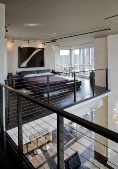 Unique Loft Bedroom Design Ideas18