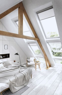Unique Loft Bedroom Design Ideas27