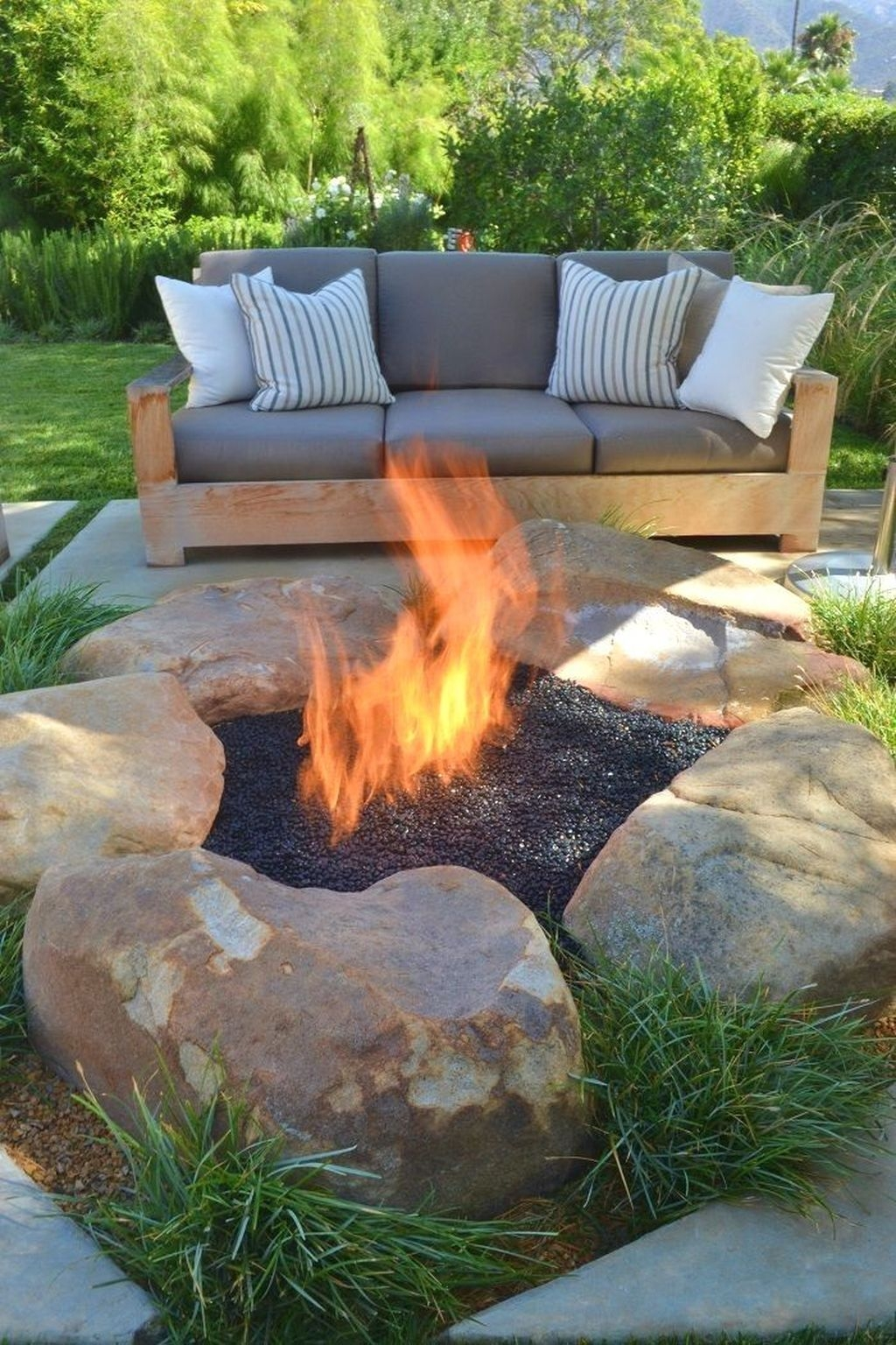 Unordinary Diy Fire Pit Ideas Backyard Landscaping13