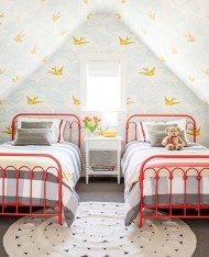 Affordable Attic Kids Room Decor Ideas03