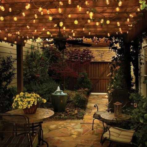 Beautiful Light Design Ideas For Garden26