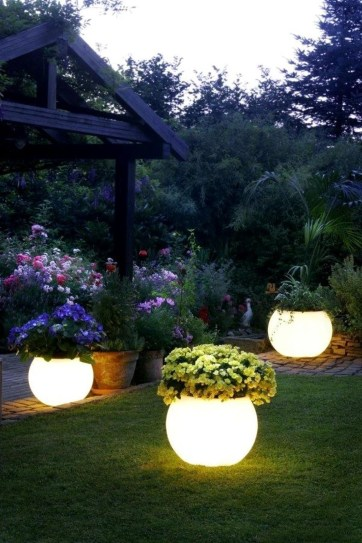 Beautiful Light Design Ideas For Garden33