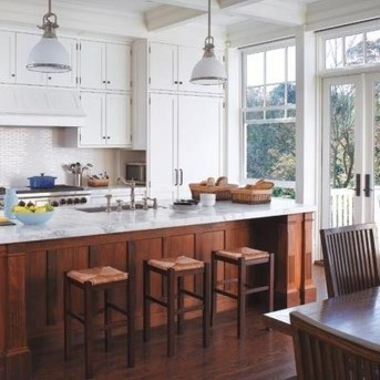 Captivating White Cabinets Design Ideas For Kitchen16